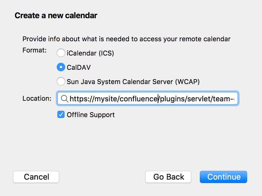 Subscribe to Team Calendars from Thunderbird - Atlassian