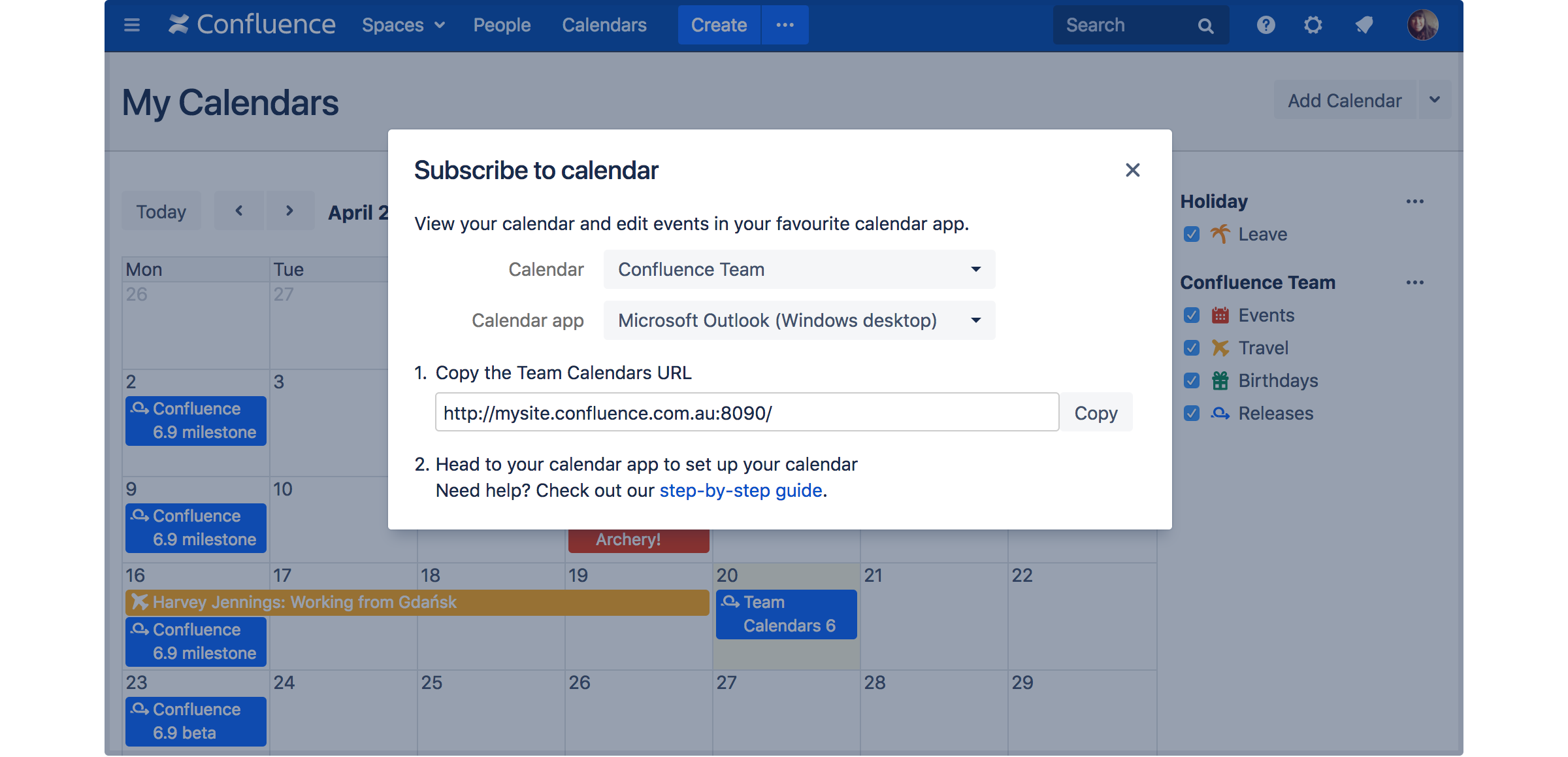 Team Calendars 6 0 Release Notes - Atlassian Documentation