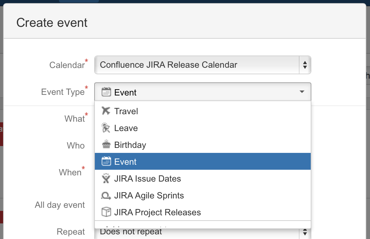 add events atlassian documentation